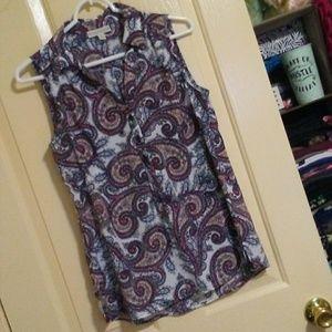 Dana Buchman sleeveless shirt